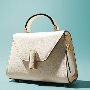 Valextra$500 Gift Card RewardSaffiano Iside Micro Top Handle Bag