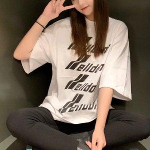 7折 €191收爆款反光T恤WE11DONE 春季大促 时尚标杆 欧阳娜娜、杨幂、DG都在穿