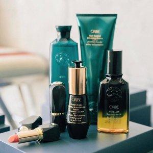 最高送$300礼卡+新人8.5折延长一天:Oribe 洗发护发产品促销  入黄金发油 头发顺滑不毛躁