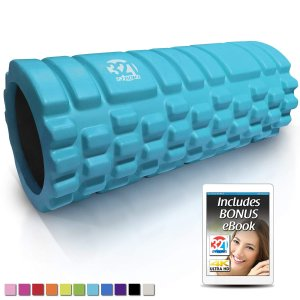 321 STRONG Foam Roller - Medium Density Deep Tissue Massager for Muscle Massage and Myofascial Trigger Point Release