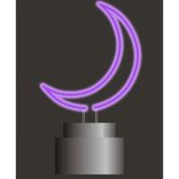Oliver Gal 紫色月亮霓虹灯