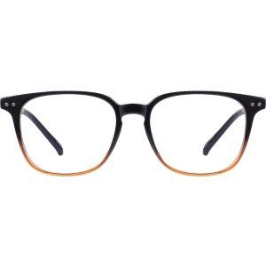 Black Square Glasses #127921   Zenni Optical Eyeglasses