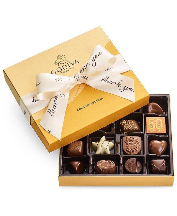 巧克力感恩礼盒19颗