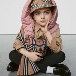 最高立减$300 变相7.5折 秋冬新款有大码即将截止:Burberry 童装服饰优惠 新款风衣、卫衣、帽子、衬衫都有