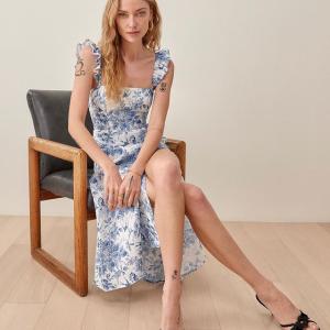 2折起+叠8.5折 £62收必备连衣裙上新:Reformation 新品法式小裙子上线 最强碎花裙看这里