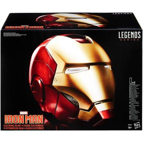 低至8折 £99收1:1钢铁侠头盔漫威电影周边热卖 1:1 钢铁侠头盔,雷神锤、手办 全都有