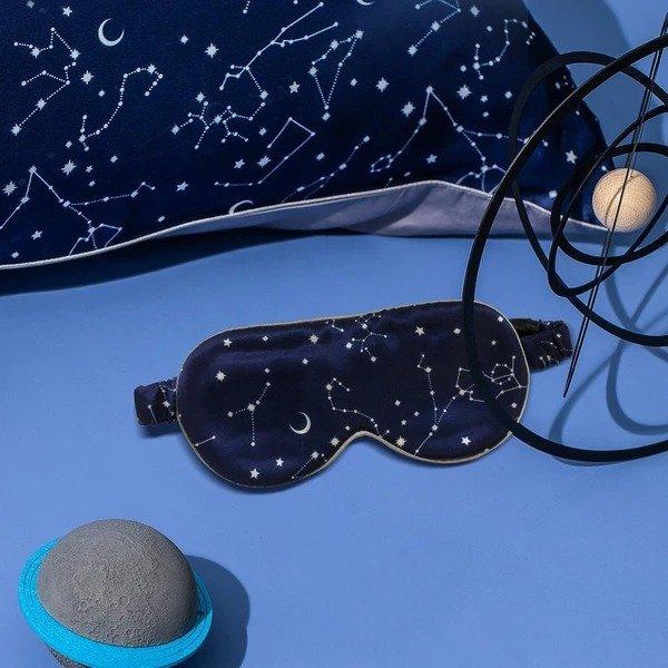 19姆米星空印花眼罩