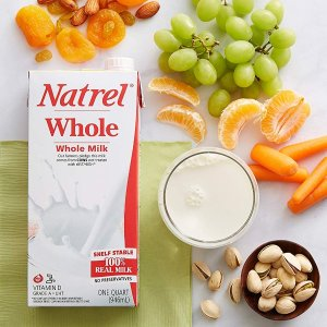 $7.49Natrel Whole Milk, 32 Ounce (Pack of 6)