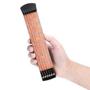 点击减$2优惠券便携吉他练习板 桃花心木制