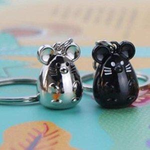 $13.38鼠你省钱:EOPER 鼠年可爱钥匙扣/包包挂件3个装
