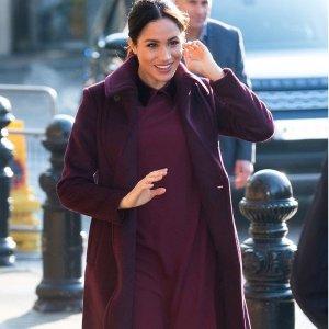 全场额外7.5折 收封面梅根王妃同款大衣Club Monaco亲友特卖会 全场美衣限时促销
