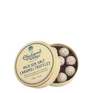 Charbonnel et Walker牛奶海盐焦糖巧克力松露 120g