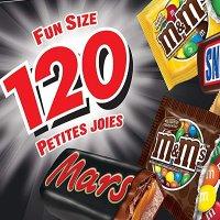 MARS 巧克力分享装 120颗 5种口味 1.46kg