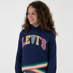 包邮 卫衣$7+ 牛仔衣$12+Levi's官网 童装额外5-6折黑五大促