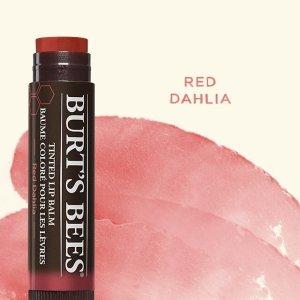 $4.74 (原价$5.99)Burt's Bee 小蜜蜂有色护唇膏特卖 孕妇可用