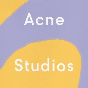 8.5折+免税 经典笑脸设计买不停时装月独家:Acne Studios 围巾、卫衣、笑脸帽等热卖