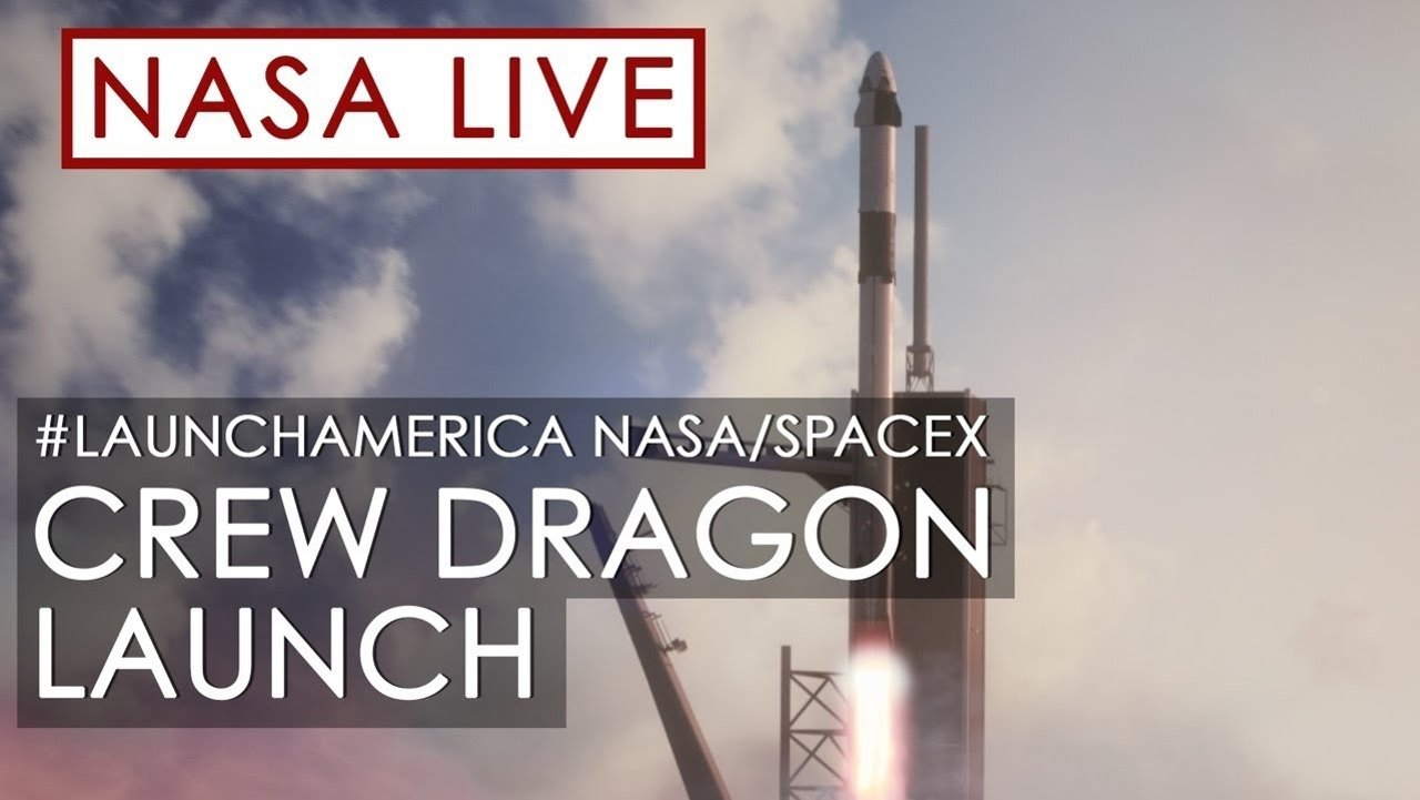 SpaceX 龙飞船首次载人上太空,接近国际空间站,在线直播观看攻略