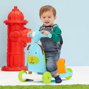 $45 (原价$60)史低价:Skip Hop  三合一幼儿骑行小车 两款可选