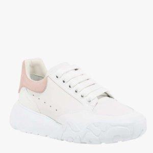 直接7折 £251收粉尾小白鞋Alexander McQueen 黑五大促 收黑尾、粉尾、彩虹尾小白鞋