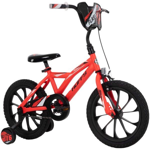 16英寸带手刹儿童自行车