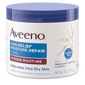 Aveeno Skin Relief Intense Moisture Repair Cream with Triple Oat Complex