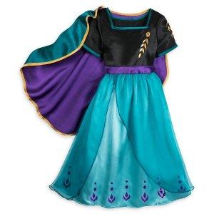 DisneyAnna Sleep Gown for Girls – Frozen 2   shopDisney