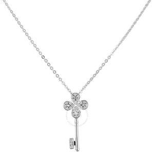 水晶钥匙项链