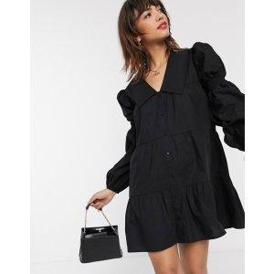 Stradivarius黑色连衣裙