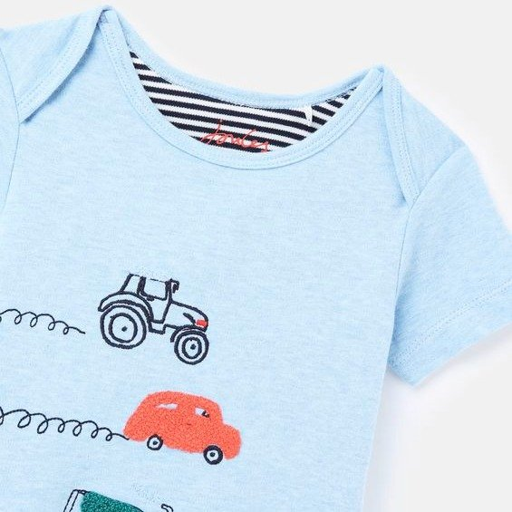 婴儿有机棉爬服