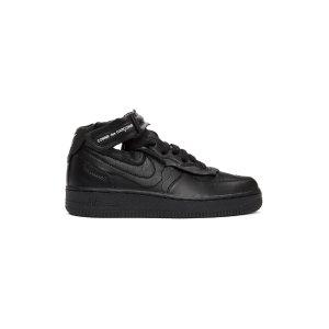 Comme Des Garcons最新联名款联名款全黑运动鞋