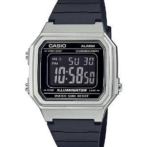 $22.74(原价$29.99)白菜价:Casio Quartz Resin Strap 复古休闲方块手表