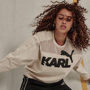 全线6折Puma X Karl Lagerfeld 老佛爷合作款热卖