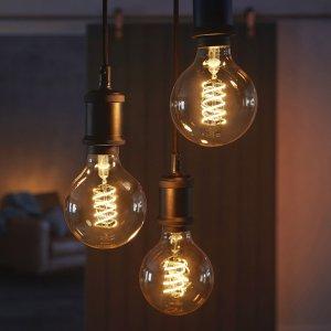 $29.99起 尽享智能+格调补货:Philips Hue 全新复古灯丝灯泡 科技混搭经典