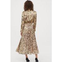 H&M 混丝绸半身裙