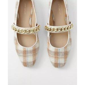 Ann Taylor小香风格纹鞋