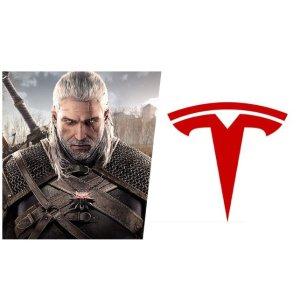 Tesla Model S 或支持巫师3除了茶杯头 还能玩巫师3?真有你的啊马斯克