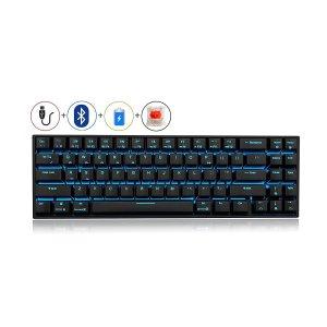 RK71 Mechanical Keyboard 71 Keys 70% LED Backlit Compact Gaming Keyboard