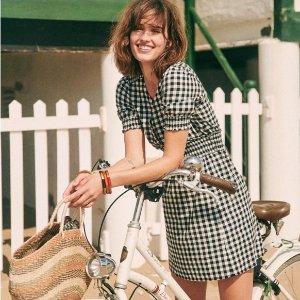 低至4折Sezane 法国小众品牌夏日特卖 浪漫蕾丝针织裙$70