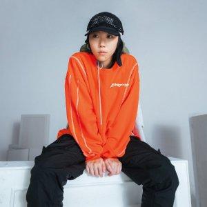 Puma窦靖童封面同款x ATTEMPT 联名橙色上衣