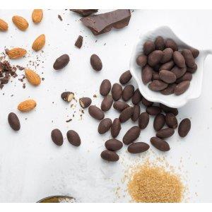 Dark Chocolate Sea Salt Almonds 8 oz