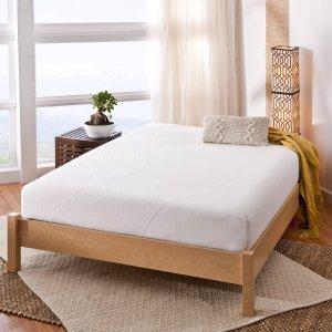 $139.99Zinus Spa 10寸记忆海绵床垫 Queen尺寸