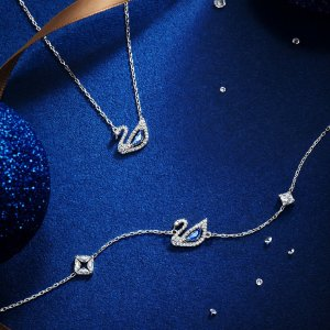 3折起 红宝石小燕子项链$48Swarovski 节日大促 新款 星月、渐变金小天鹅好价收