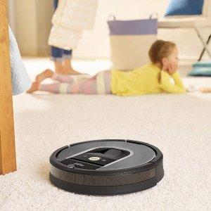 5.6折 现价€364(原价€649)史低价:iRobot Roomba 966 智能扫地机器人限时特价 解放你的双手