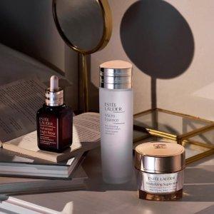 满额送多肽日霜(价值$57)限今天:Estee Lauder 美妆护肤品热卖 收超值套装、小棕瓶