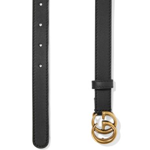 Gucci相当于美金$354,包税经典2cm双G腰带
