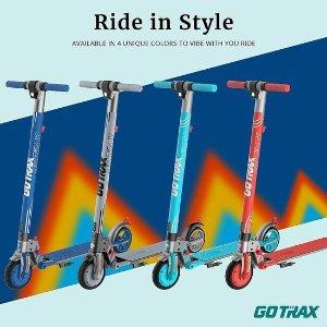 $197.79(原价$329.99)史低价:GOTRAX Vibe 200W 青少年电动滑板车
