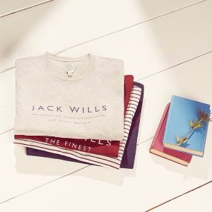 50% OFF+Extra 10% OFFJack Wills Men's Clothing Accessories Sale
