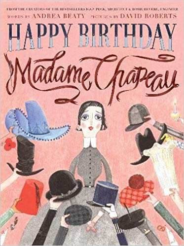 童书 Happy Birthday, Madame Chapeau