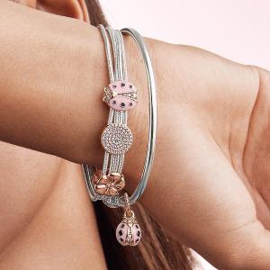 满$125赠手链 超多限量美到炸最后一天:PANDORA Jewelry 春夏花园秘境系列热卖