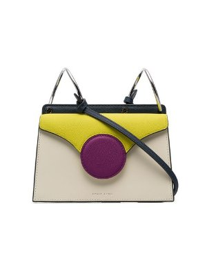 Danse Lente white Phoebe mini leather crossbody bag $390 - Buy Online - Mobile Friendly, Fast Delivery, Price
